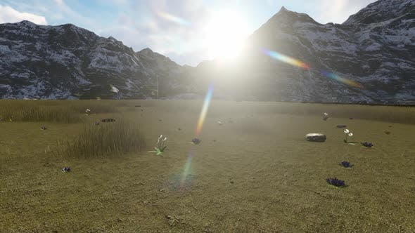 Thumbnail for Sunrise over the mountains