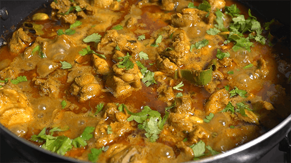 Thumbnail for Spicy Asian Chicken Curry