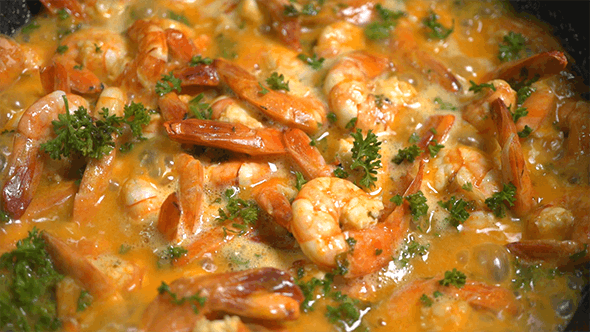 Thumbnail for Spicy Garlic Shrimp Stew