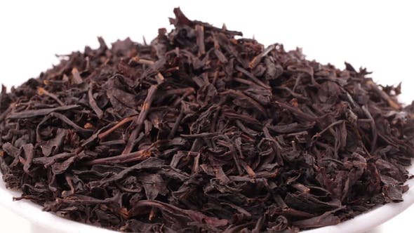 Thumbnail for Rotating Pile Of Black Tea