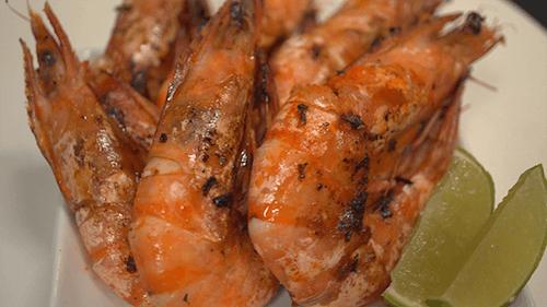 Grilled Jumbo Tiger Shrimp