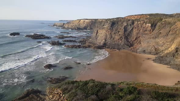 Cover Image for Praia da Pedra da Bica beach