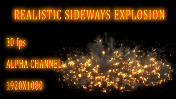 Thumbnail for Sideways Explosion