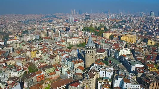 Cover Image for Aerial View of Galata Tower 3