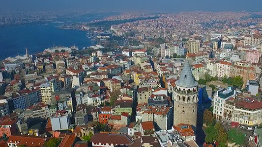 Cover Image for Aerial View of Galata Tower 4