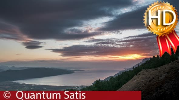 Thumbnail for Sunset Seascape Mountain View