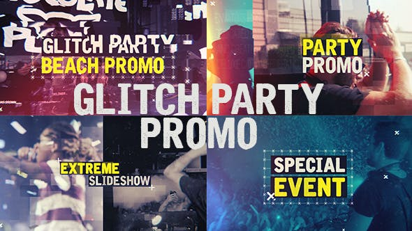 Thumbnail for Glitch Party Promo