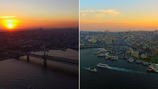 Thumbnail for Sunset Turkey Istanbul 1