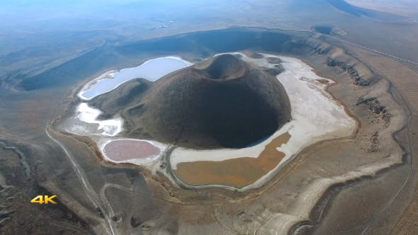 Thumbnail for Aerial Volcanic Crater Lake