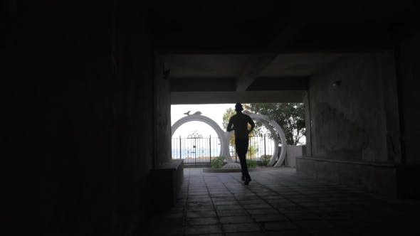 Thumbnail for Man Leaving Hotel To Have Workout On Water Front