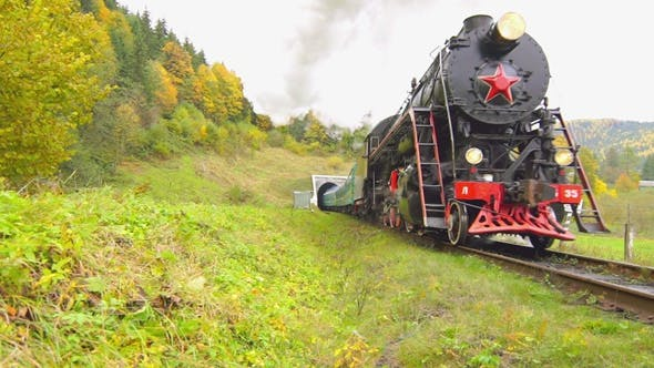 Thumbnail for Old Steam Train
