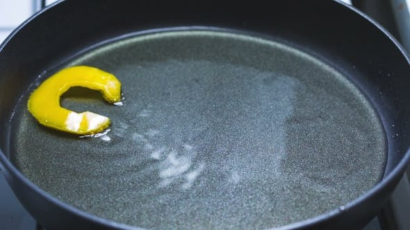 Thumbnail for In A Frying Pan In Boiling Oil Fried Cook Word