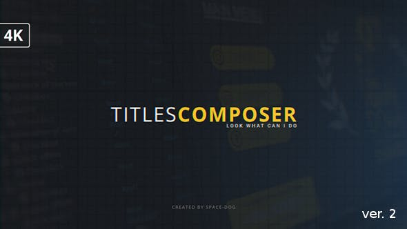 Thumbnail for Titles Composer
