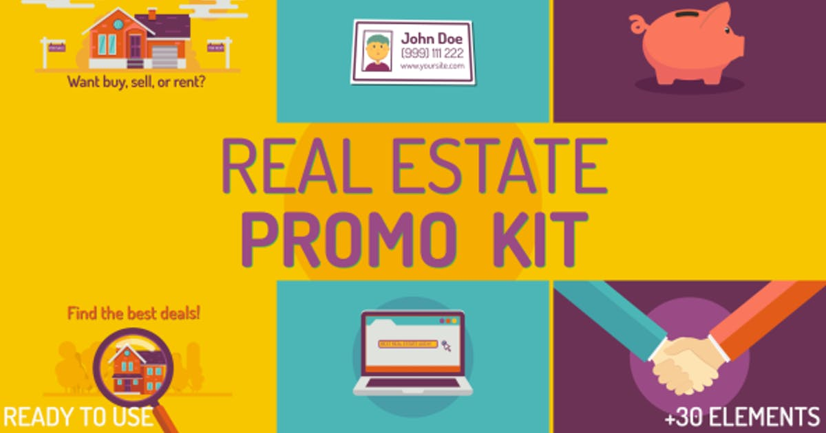 Download Real estate Kit by Treedeo