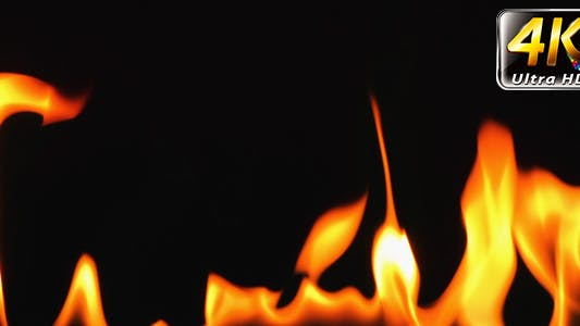 Thumbnail for Burning Fire Background Texture 1
