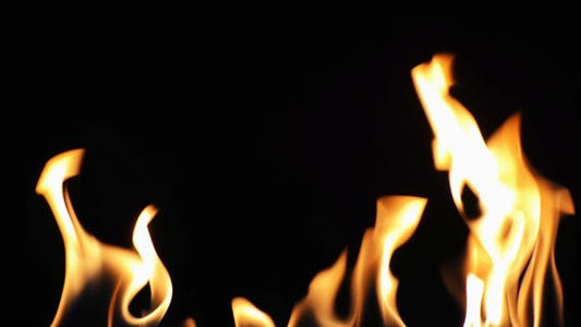 Thumbnail for Burning Fire Background Texture 2