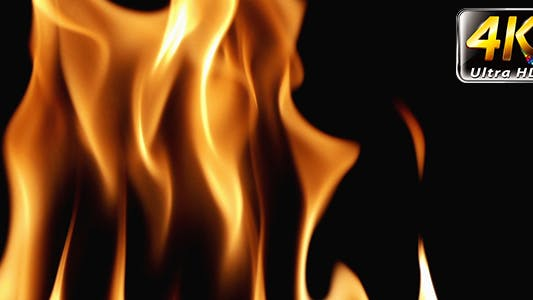 Thumbnail for Burning Fire Background Texture 4