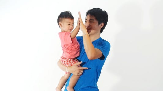High Five For Daddy