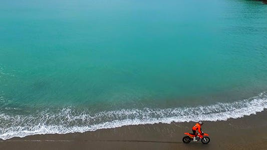 Thumbnail for Motorbikes on the Beach