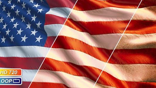 Thumbnail for USA Flags