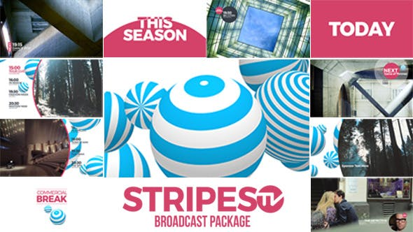 Thumbnail for Stripes TV Broadcast-Paket