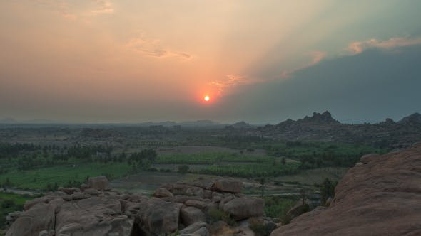 Cover Image for Sunset In Hampi