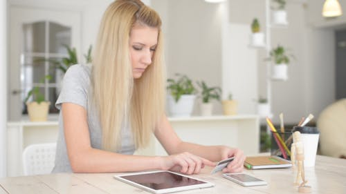 Online Shopping by Girl, Online Payment
