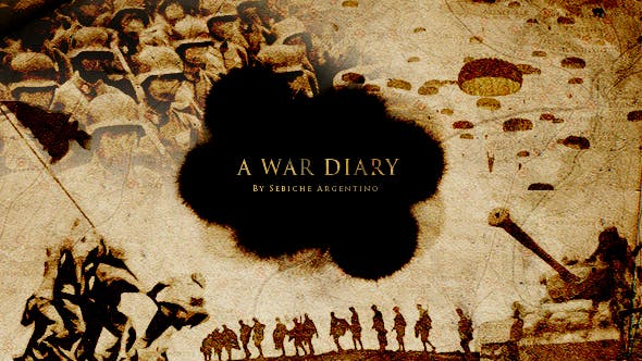 Cover Image for A War Diary