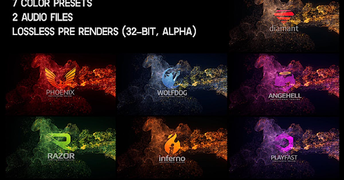 Download Elegant Soft Particles Logo Reveal by Nullifier