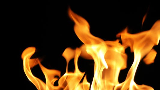 Thumbnail for Burning Fire Background Texture 7