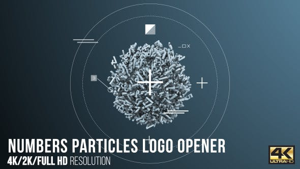 Cover Image for Numbers Particles Logo Opener