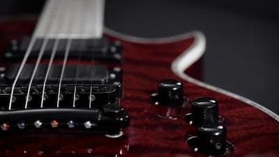 An Electric Guitar.
