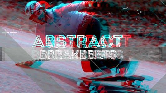 Abstract Breakbeats