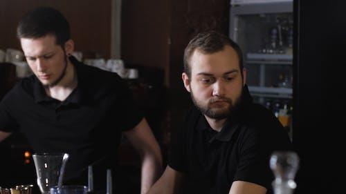 Professional Bartenders, Stylish Black Shirt