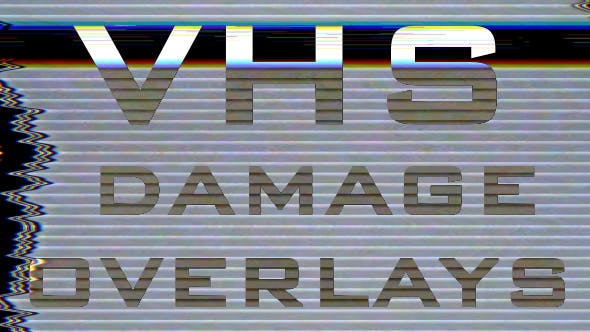 Thumbnail for VHS Damage Overlays Pack