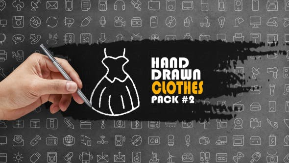 Hand Drawn Clothes Pack 2