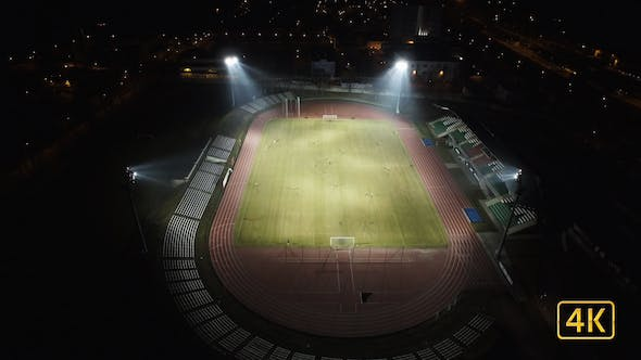 Thumbnail for Aerial View Of Football Training 2