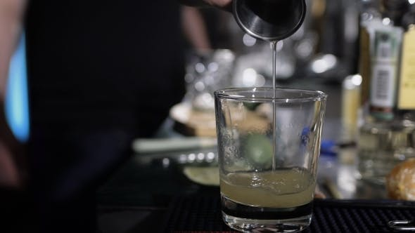 Thumbnail for Bartender Is Making Cocktail