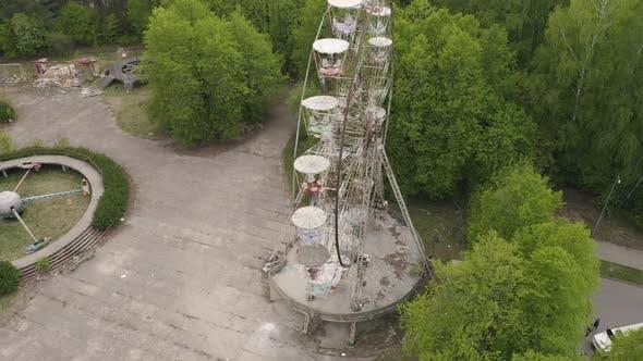 Thumbnail for Abandoned Carousel in Forgotten Park