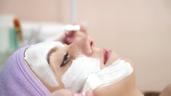 Thumbnail for Girl Having Cosmetic Mask