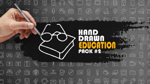 Thumbnail for Hand Drawn Education Pack 2
