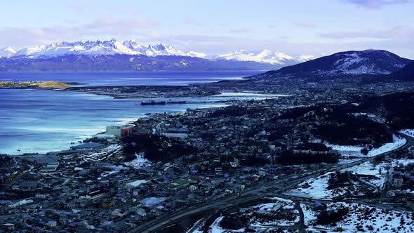 Thumbnail for Ushuaia City, in Argentine Patagonia.