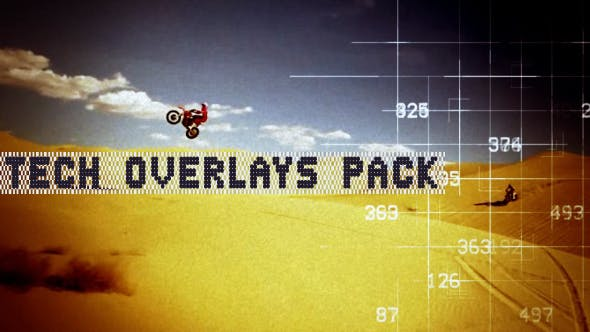 Thumbnail for Tech Overlays Pack