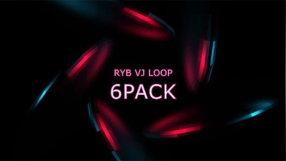 Thumbnail for RYB color VJ Loop Vol.2