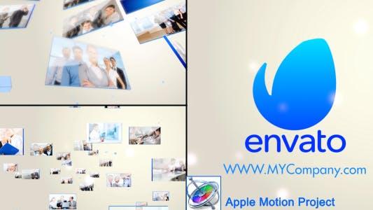 Thumbnail for 3D LCD Display Logo Opener - Apple Motion