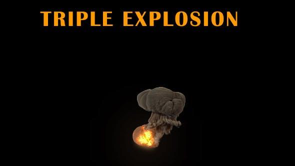Triple Explosion