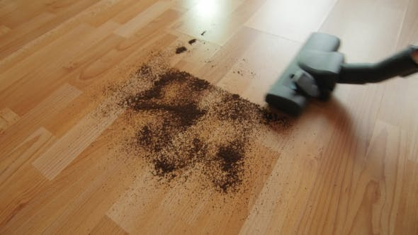 Thumbnail for Vacuuming a Mess Floor