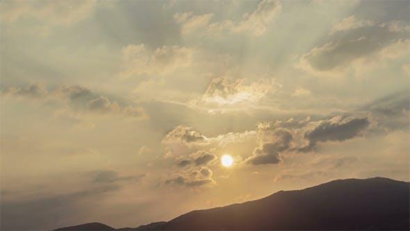 Thumbnail for Golden Sunset over Hill