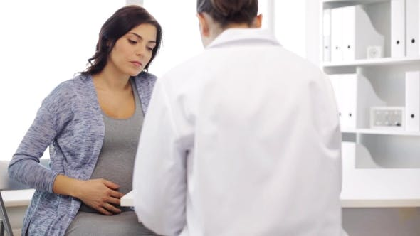 Thumbnail for Gynecologist And Pregnant Woman At Hospital 48