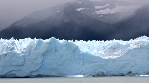 Glacier View From Boat